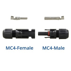 MC4 Male Female M/F Wire Cable Connector Set Solar Panel Adapter 30A IP67