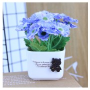 Home Office Decorative with Mini Lovely Artificial Flower