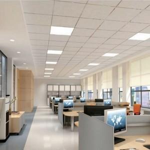 10pcs 6W LED Ceiling Light Square Warm White