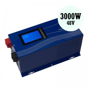 3000W Solar Power Inverter 48V Hybrid Inverter Home Solar Energy Equipment Multiple power source