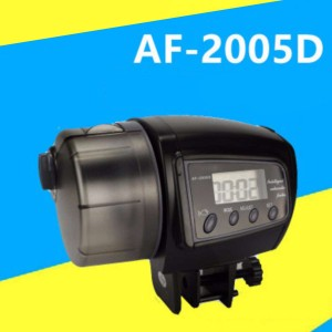 Automatic Fish Feeder AF2005D 100ML Aquarium Auto Food Feeder Tank Timer Feeding