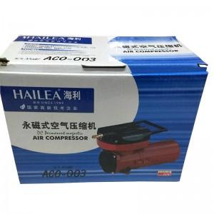 Hailea Air Electromagnetic Oxygen Pump Aquarium ACO-003  DC12V Battery Powered Aerator Pump for Fish Truck