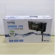 EBANG Hang On Filter Aquarium Fish Tank Hanging Filter 580 L Dophin EB-04