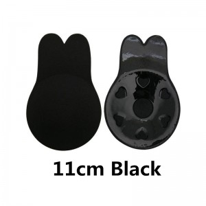 Women Silicone Invisible Breast Lift Up Bra Tape Nu Bra Rabbit Ear Lifting Chest Sticker
