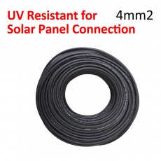 2 x 50 Meter 4mm2 Solar cable UV Resistance for PV Connection