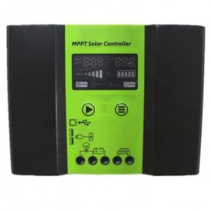 40A 12V 24V Auto Work MPPT Solar Regulator Charge Controller